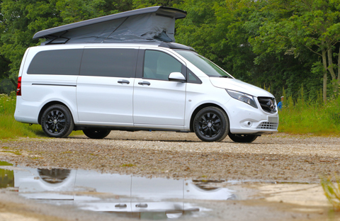 ai campers Bespoke Mercedes Vito Camper Van Two