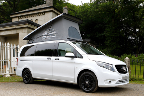 ai campers Bespoke Mercedes Vito Camper Van Eight